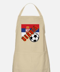 World Soccer SERBIA Team T-shirts Apron