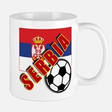World Soccer SERBIA Team T-shirts Mug