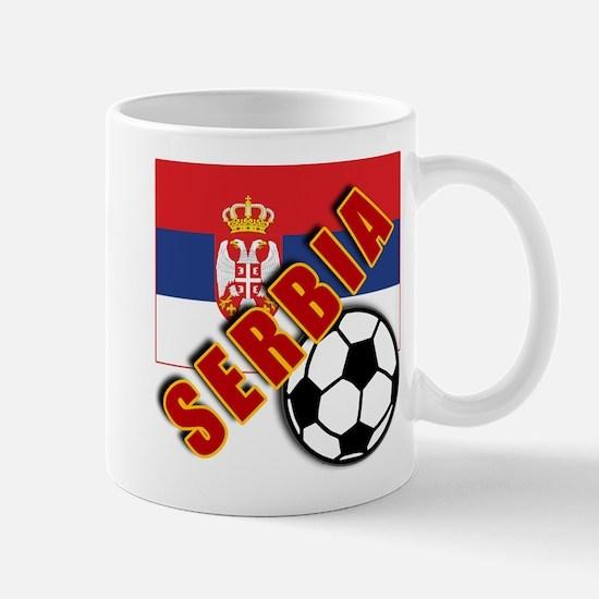 World Soccer SERBIA Team T-shirts Mug