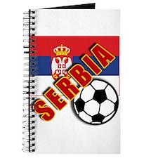 World Soccer SERBIA Team T-shirts Journal
