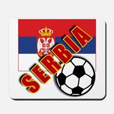 World Soccer SERBIA Team T-shirts Mousepad