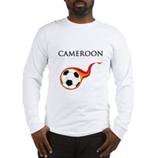 Cameroon Soccer Long Sleeve T-Shirt