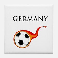 Germany Soccer Tile Coaster