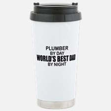 World's Best Dad - Plumber Travel Mug