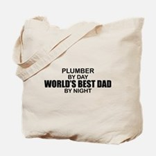World's Best Dad - Plumber Tote Bag