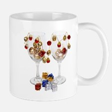 Cheerful Wine Glasses Mug