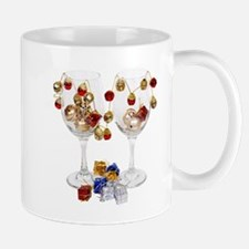 Cheerful Wine Glasses Small Mugs