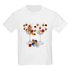 Cheerful Wine Glasses T-Shirt