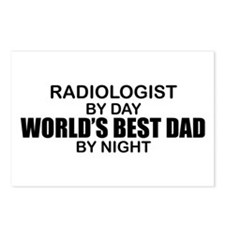 World's Best Dad - Radiologist Postcards (Package