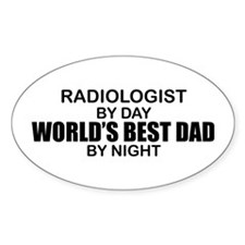 World's Best Dad - Radiologist Decal