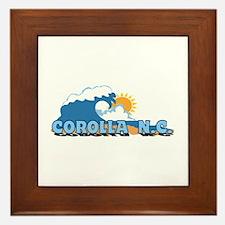 Corolla NC - Waves Design Framed Tile