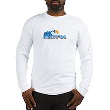 Corolla NC - Waves Design Long Sleeve T-Shirt
