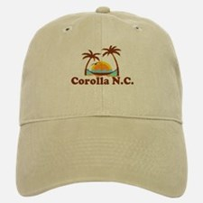 Corolla NC - Palm Trees Design Baseball Baseball Cap