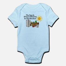 Sunny Kitchen Infant Bodysuit