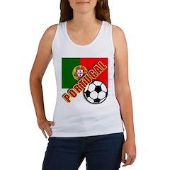 World Soccer PortugalTeam T-shirts Women's Tank To