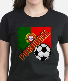 World Soccer PortugalTeam T-shirts Tee