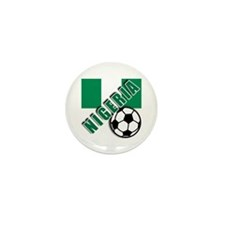 World Soccer NIGERIA Mini Button (100 pack)