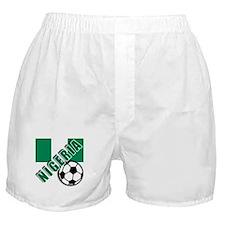 World Soccer NIGERIA Boxer Shorts