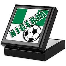 World Soccer NIGERIA Keepsake Box