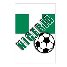 World Soccer NIGERIA Postcards (Package of 8)