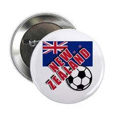 "NEW ZEALAND Soccer 2.25"" Button"