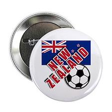 "NEW ZEALAND Soccer 2.25"" Button (10 pack)"