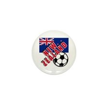 NEW ZEALAND Soccer Mini Button