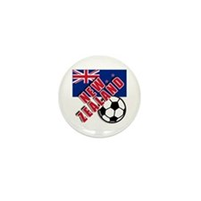 NEW ZEALAND Soccer Mini Button (100 pack)