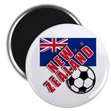 "NEW ZEALAND Soccer 2.25"" Magnet (10 pack)"