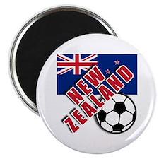 "NEW ZEALAND Soccer 2.25"" Magnet (100 pack)"
