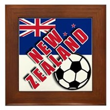 NEW ZEALAND Soccer Framed Tile