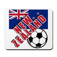 NEW ZEALAND Soccer Mousepad