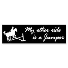 My Other Ride Is A Jumper Bumper Bumper Sticker