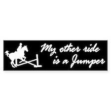 My Other Ride Is A Jumper Bumper Bumper Sticker