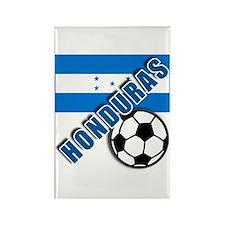 World Soccer Honduras Rectangle Magnet