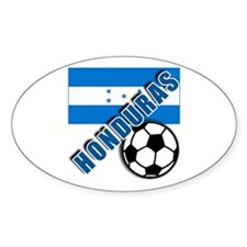 World Soccer Honduras Decal