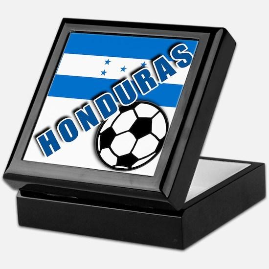 World Soccer Honduras Keepsake Box