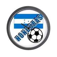World Soccer Honduras Wall Clock