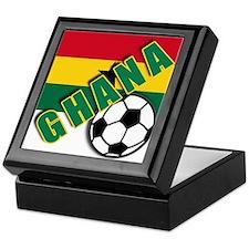 World Soccer GHANA Keepsake Box