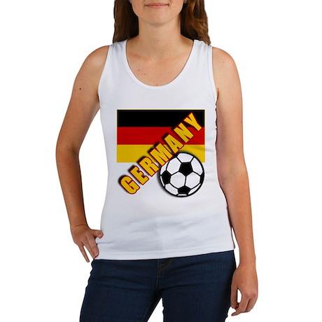 GERMANY World Soccer Women's Tank Top