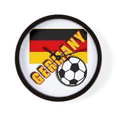 GERMANY World Soccer Wall Clock