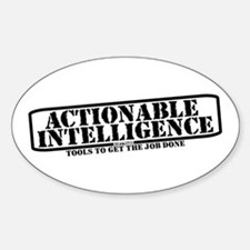 AI Software Oval Decal