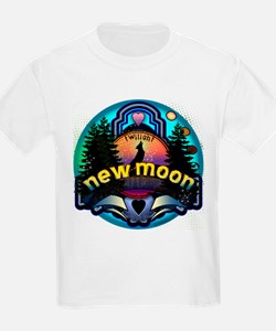 New Moon Magic Forest by Twibaby T-Shirt