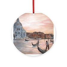 venetian romance Ornament (Round)
