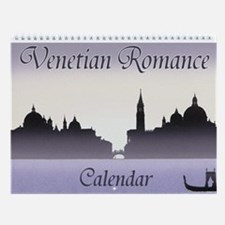 venetian romance Wall Calendar