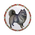 Keeshond Ornament (Round)