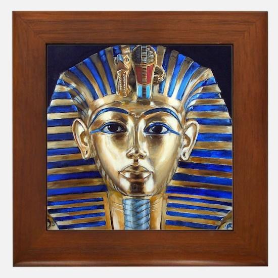 Tutankhamun Framed Tile
