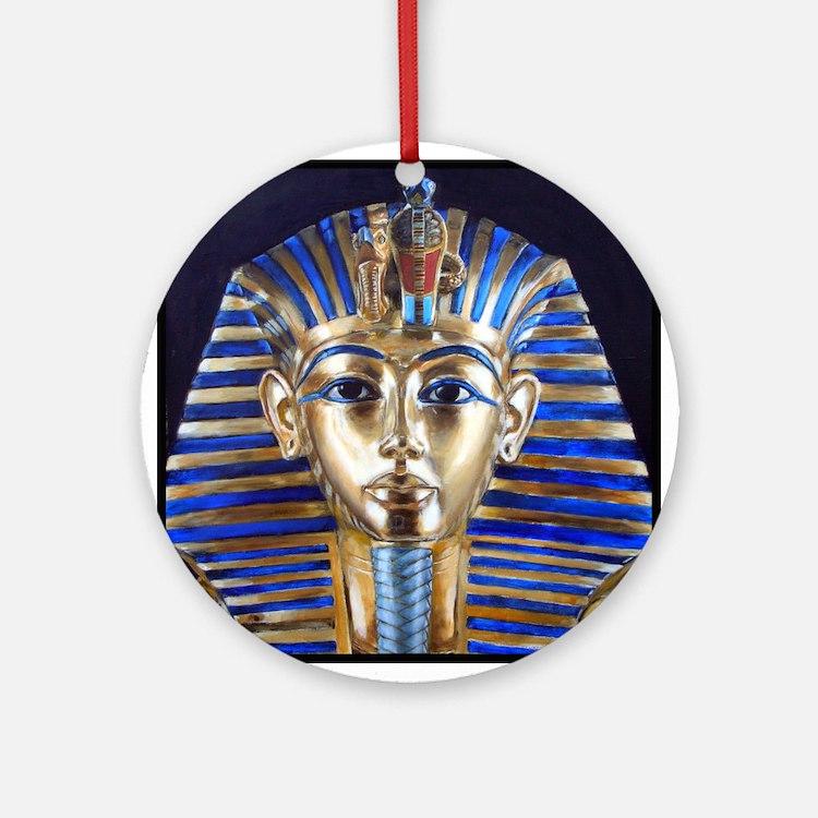 Tutankhamun Ornament (Round)