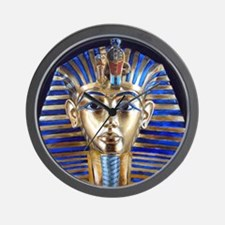 Tutankhamun Wall Clock