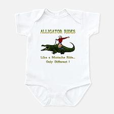 ALLIGATOR RIDES Infant Bodysuit